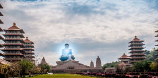 vivir en un templo budista