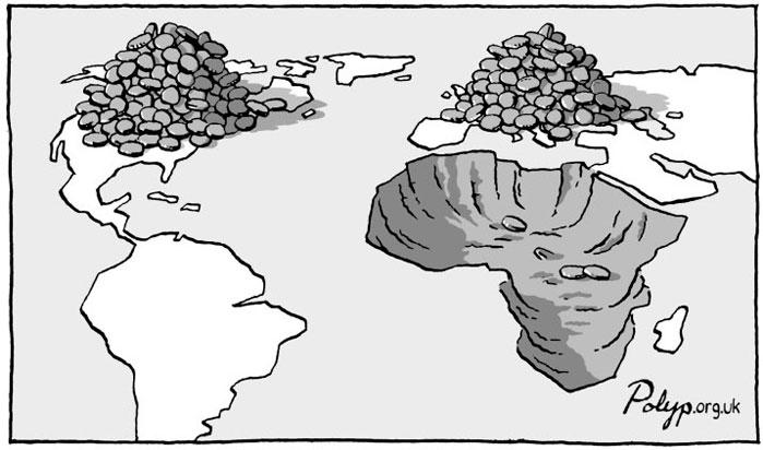 Desigualdad entre países pobres en el capitalismo